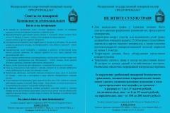 Советы по пожарной безопасности домовладельцам